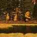 Weir Pond Dancers by MistyDays / CB