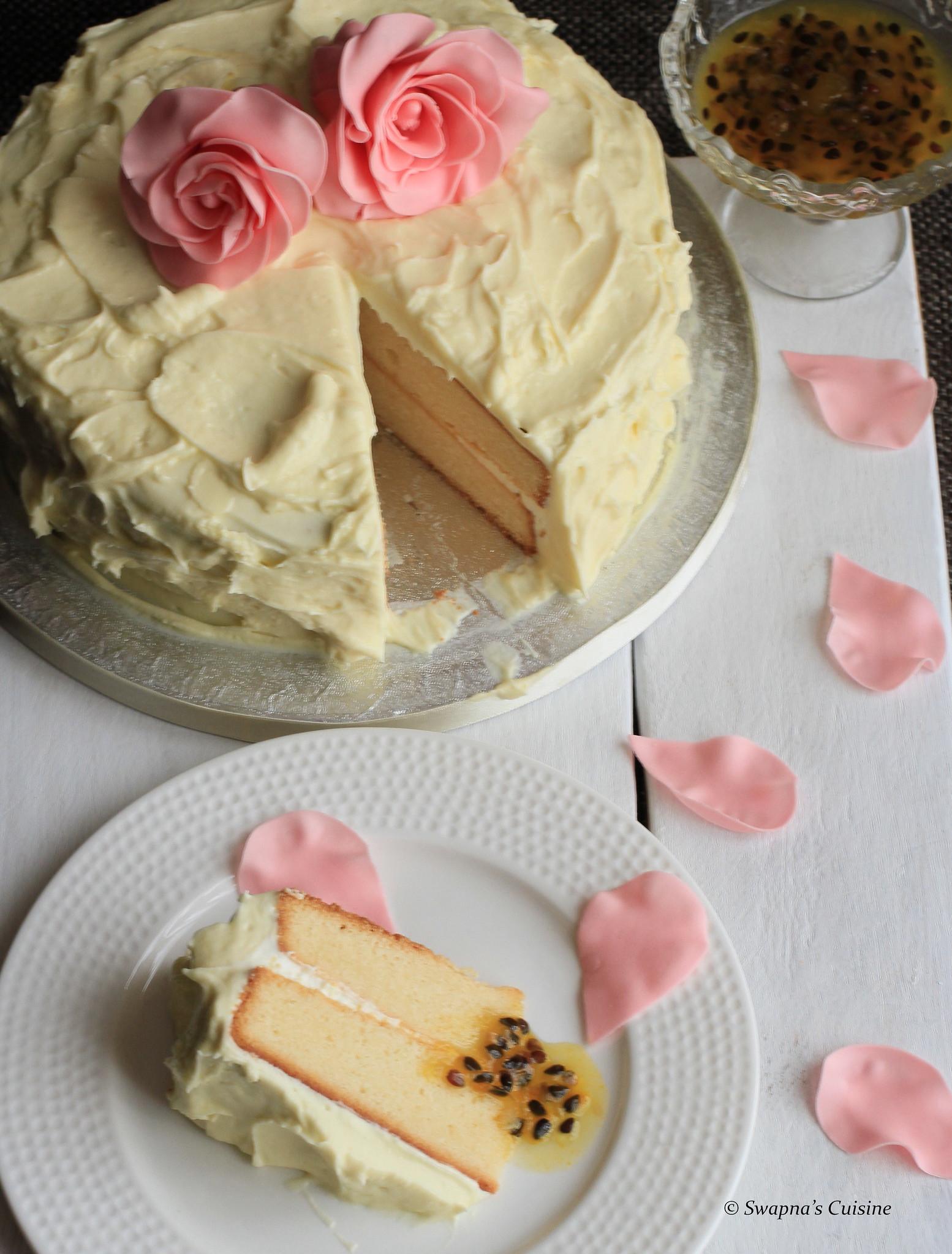 Passionfruit Cake Recipe