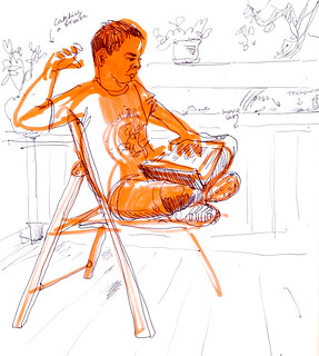 Sketchbook #92: Reading