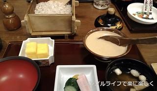 東京2日目、夕食・とろろご飯