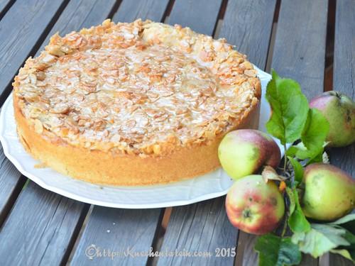 Apfel-Bienenstich-Torte (2)