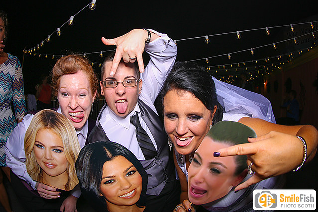 same-sex wedding jacksonville, fl photo booth rental | gay couple marriage