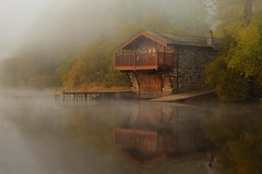 Boathouse in the Autumn