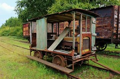 Guitres, anciens trains - Photo of Maransin