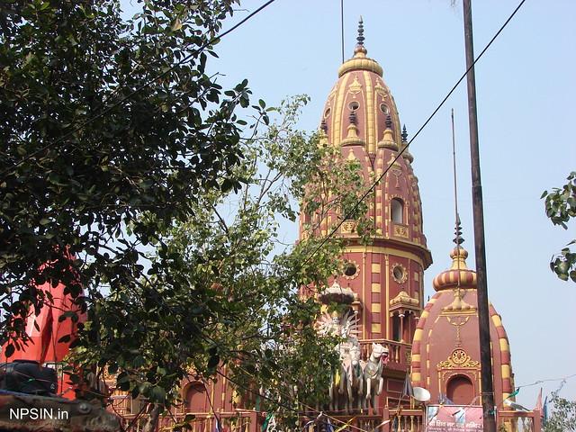 Full outer  view of temple Shri Shiv Navgrah Mandir Dha