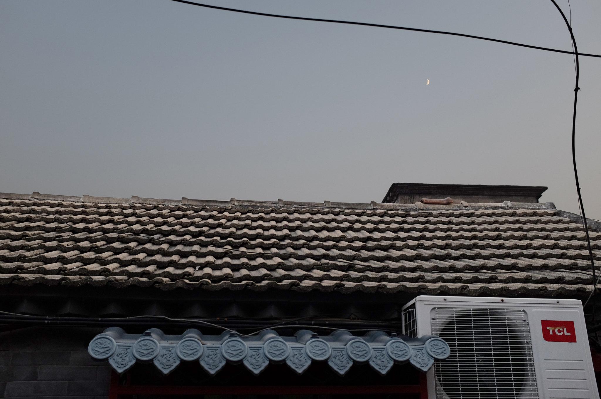 Mond überm Hutong
