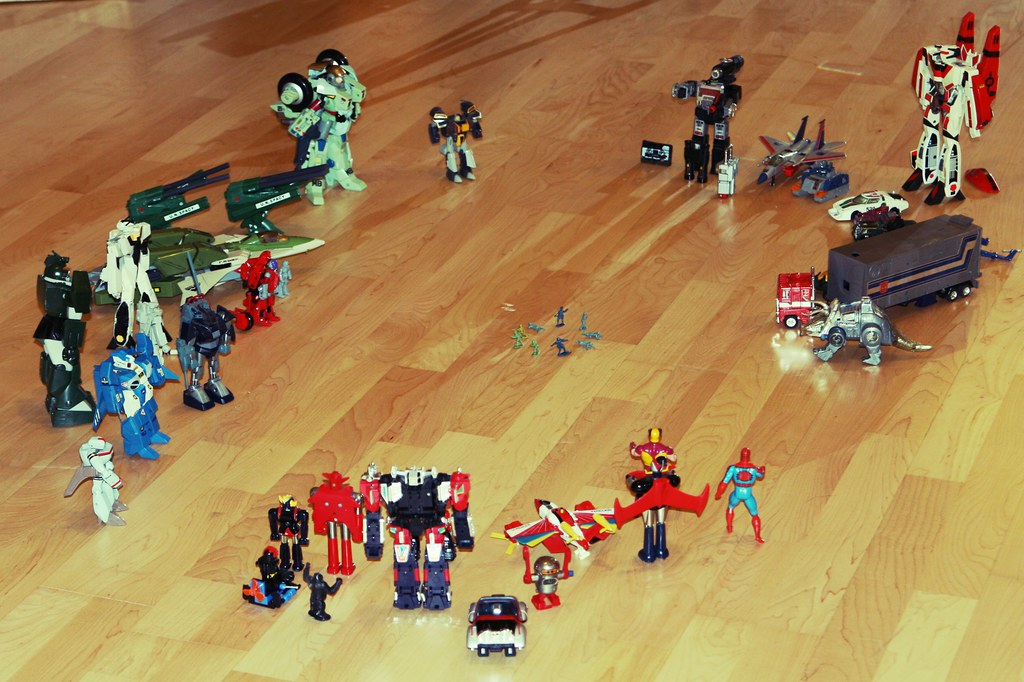 My 30 Year Old Robots. #ThrowbackThursday #Toys