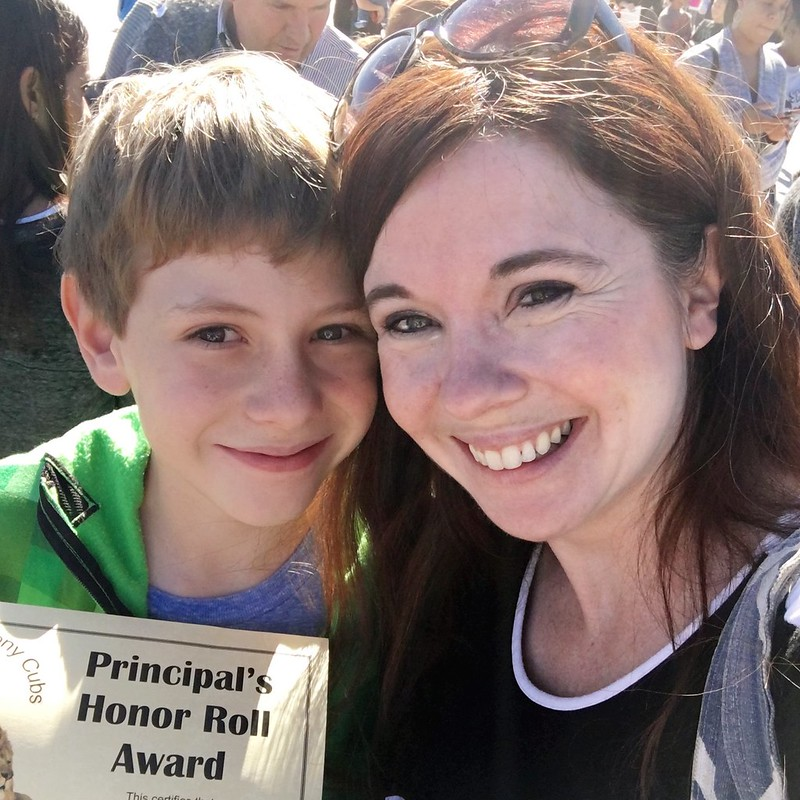 Mother-and-son-school-award