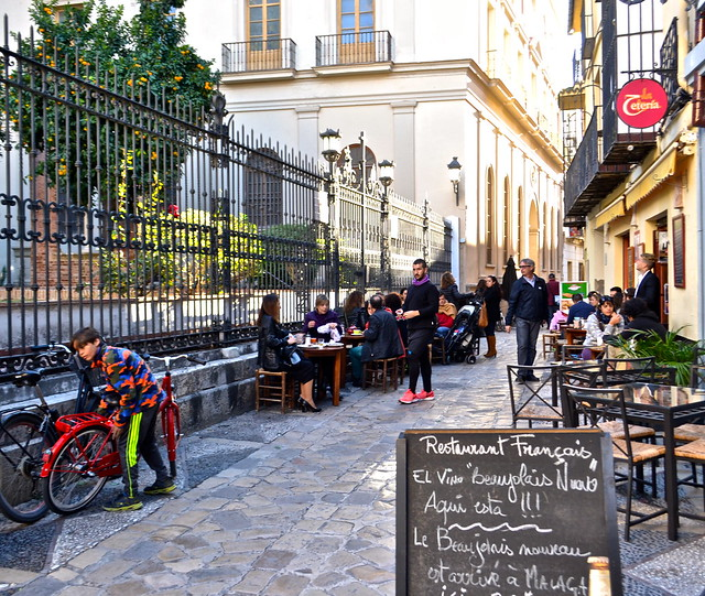 historic district malaga, bike rentals