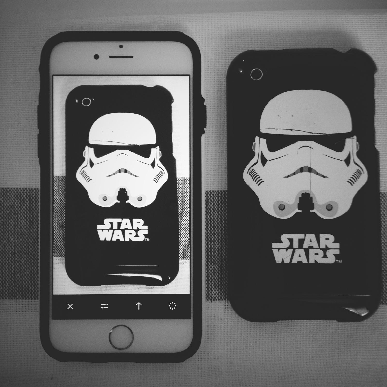 iphone 3gs starwars case