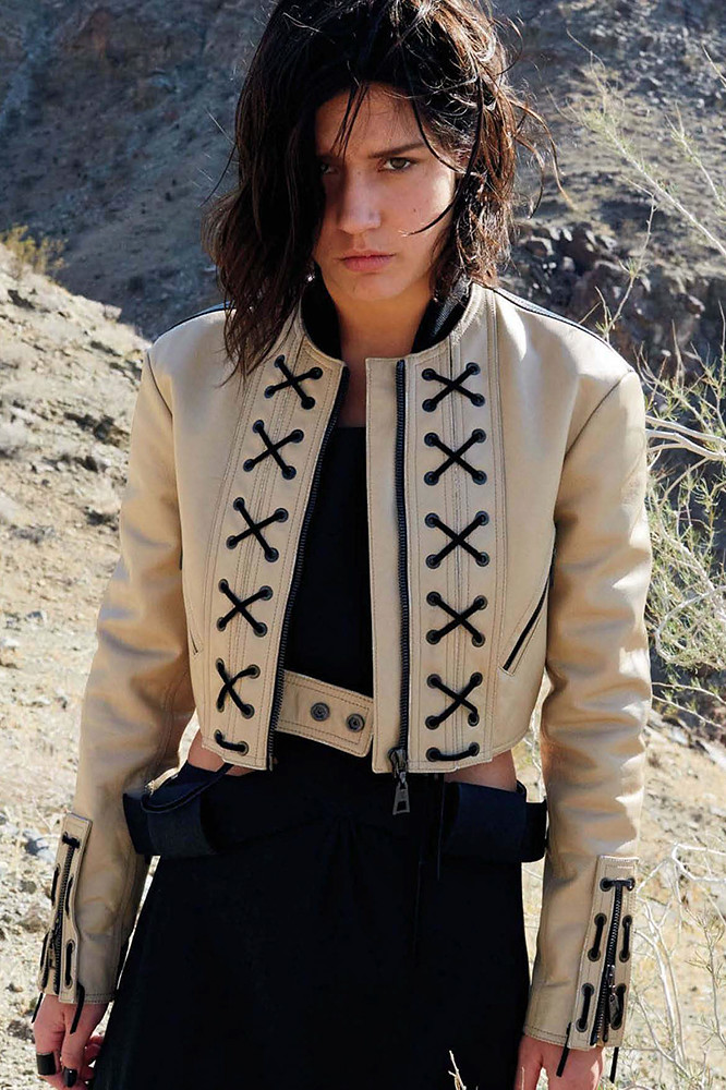 Адель Экзаркопулос — Фотосессия для «Vogue» JP 2015 – 5