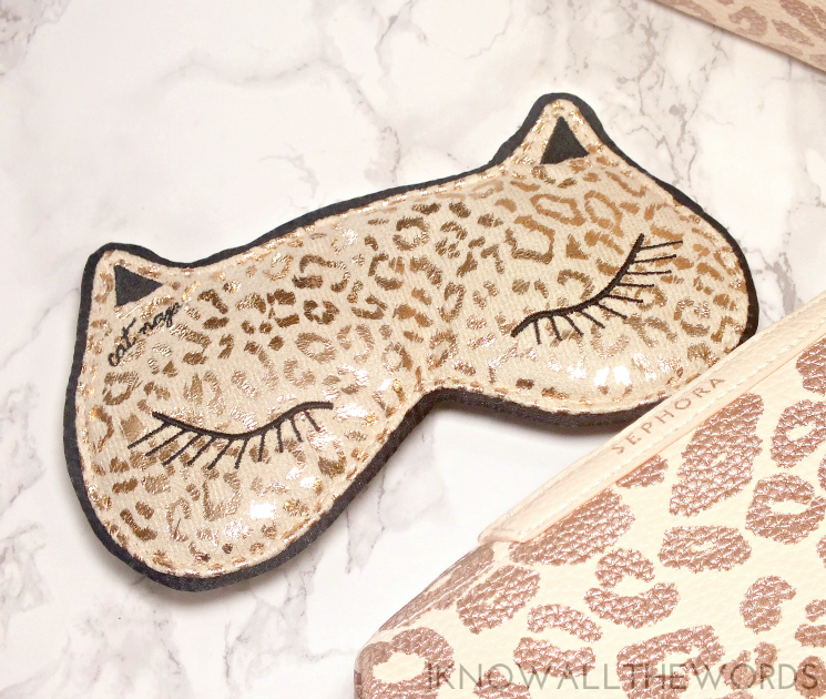 Sephora Holiday 2015 Cat Nap Mask