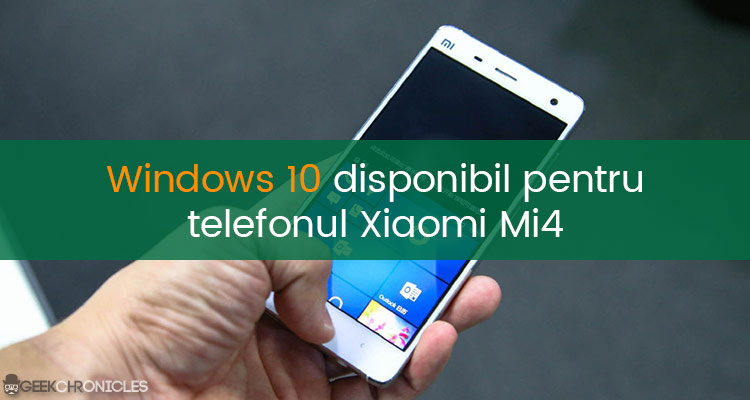 Xiaomi mi4 windows 10