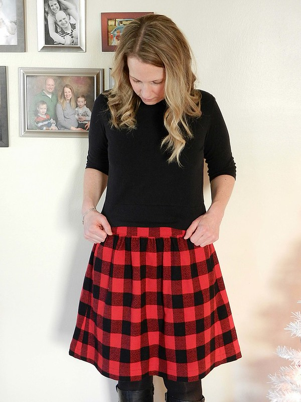 Buffalo Plaid Everyday Skirt 7.1