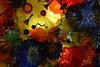 Beautiful Ceiling Glass at Chihuly Glass Garden