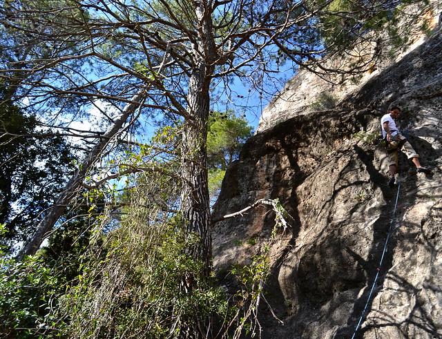 climbing at siurana spain