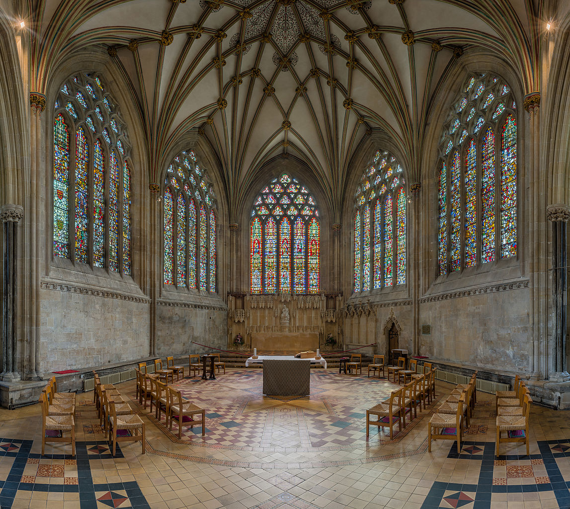 Wells Cathedral - The Lady Chapel. Credit: David Iliff