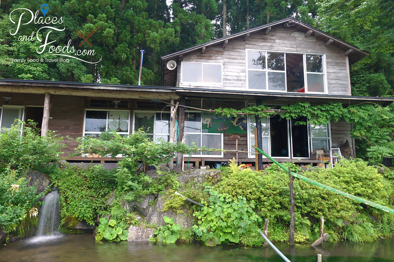 akita homestay with pond