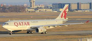 A330-200F QATAR CARGO MSN 1688 FUTUR A7-AFI.