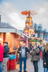 At the Christmas market in Rostock