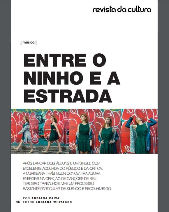 Perfil de Thaís Gulin por Adriana Paiva