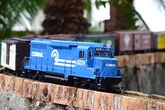 Conrail 2239 at NYBG Holiday Train Show
