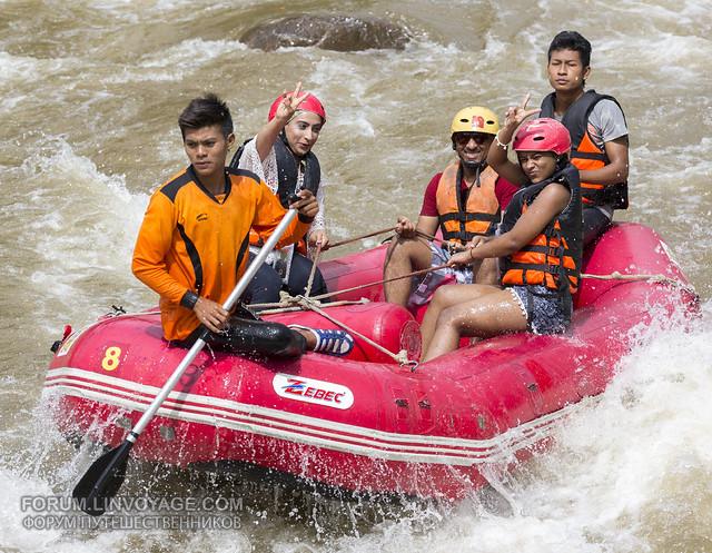 White water rafting at Phuket, Thailand - 17/01/2017      XOKA0770bss
