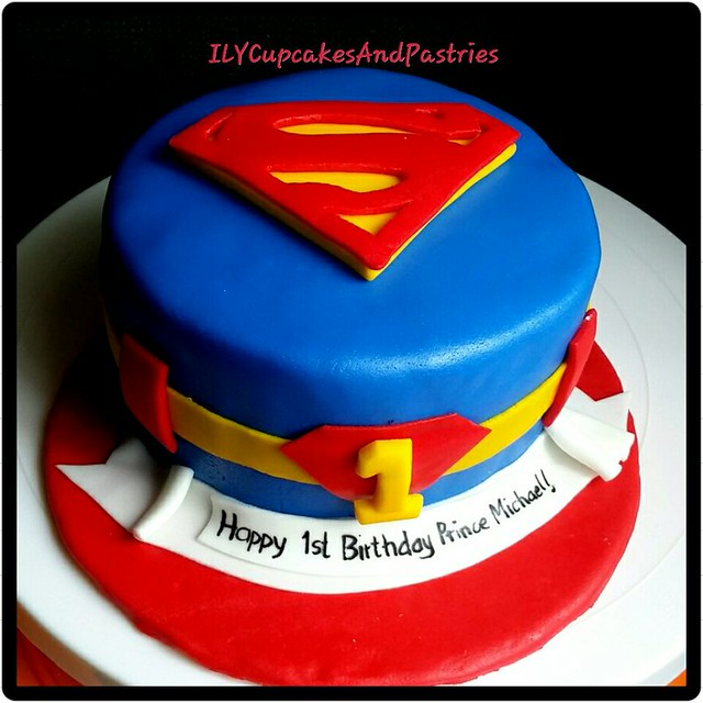 My hero. My Superman by Lovelle Maula-Val of ILY cupcakes and pastries