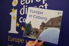 """Die Broschüre """"Europa in Coburg"""