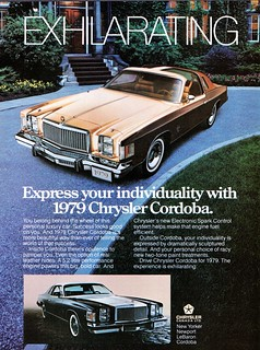1979 Chrysler Cordoba (Canadian Ad)