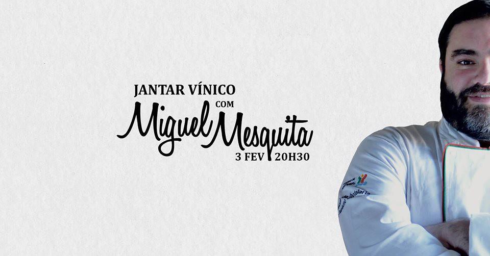 Jantar Vinico Miguel Mesquita - Imagem 1