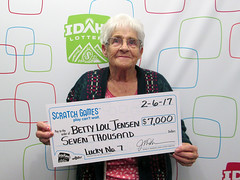 Betty Lou Jensen - $7,000 Lucky No. 7