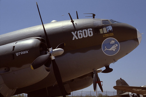 Curtiss C-46 Commando at the Pima Air & Space Museum, 1980