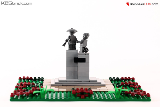 Pahlawan Statue - Jakarta Brick City 2015