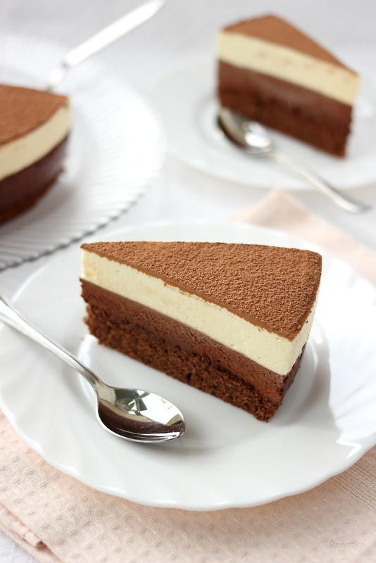 Торт «Шоколадный дуэт»