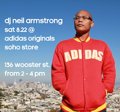 8/22 Sat - At the @adidasoriginals soho store in NYC from 2-4 PM