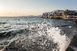 Little Venice képe. venice sunset sea water waves little hellas greece splash mykonos mikinos