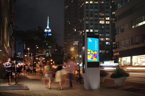 Foto Wifi-Links New York City mit freiem Wlan