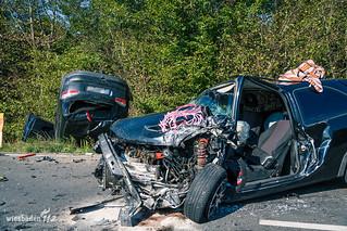 Verkehrsunfall L3303 Griesheim 21.08.2015