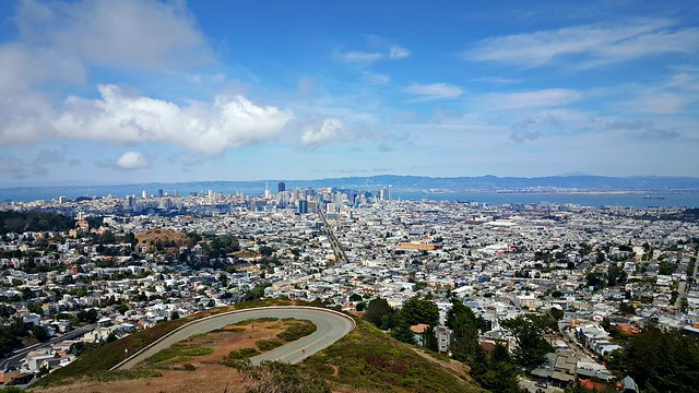 Twin Peaks, San Francisco, July 2015