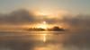 Island in the mist by jarnasen