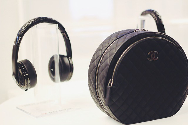 Monster x Chanel headphones lisforlois