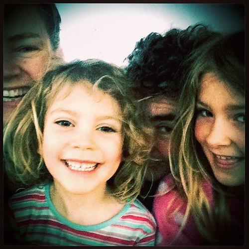 241/365 • she's FIVE!! Happy Birthday to our darling Daisy Belle 💕🎉😘 - the first of many photos from today... • #241_2015 #happybirthdaydaisy #5yo #boatyard #goodmorning #joy #love #daisy