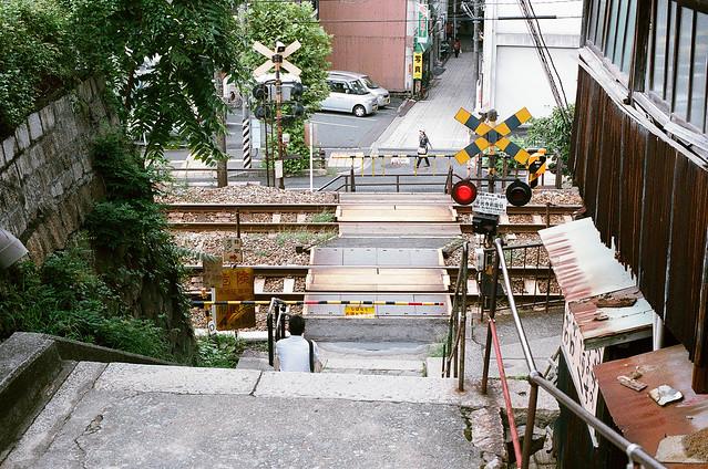 平交道 尾道 おのみち Onomichi, Hiroshima