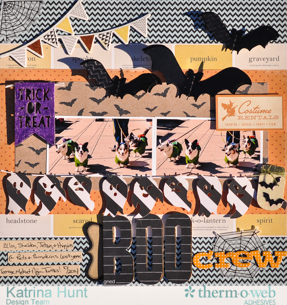 Boo_Crew_Scrapbook_Layout_Therm_O_Web_Crate_Paper_Deco_Foil_Katrina_Hunt_1000Signed-1