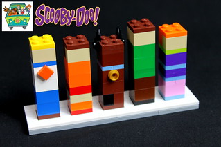 Brick Buddies- Scooby Do
