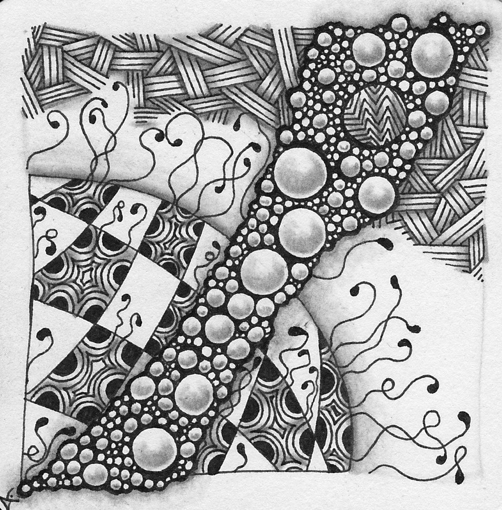 One Zentangle a Day #2