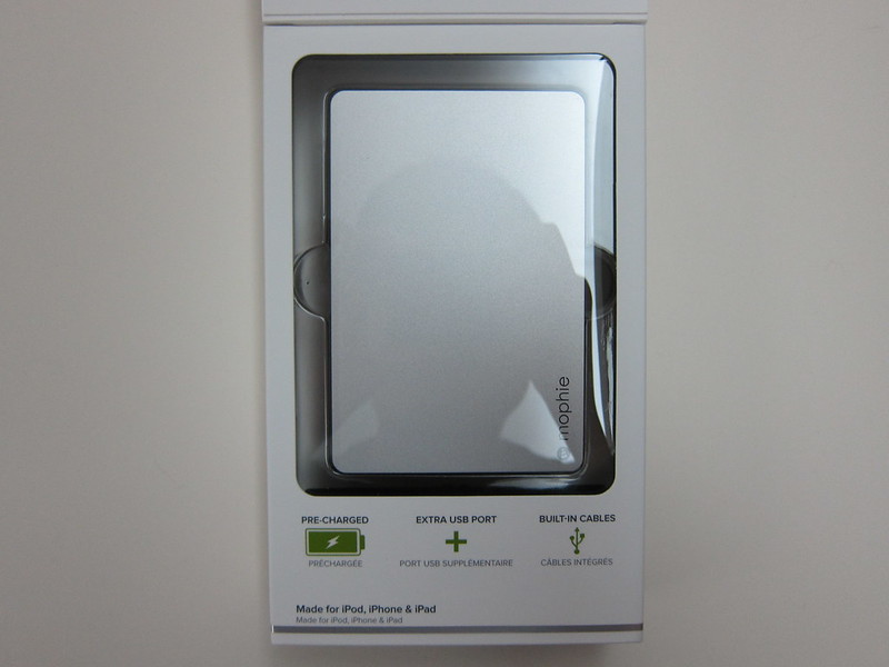 Mophie Powerstation Plus (12,000mAh) - Box Open Bottom