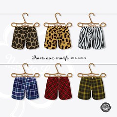 NuDoLu Shorts aux motifs all colors AD