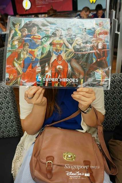 DC Comics Super Heroes Cafe Singapore 05